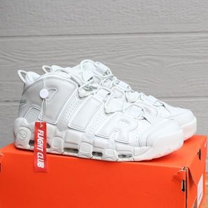 Men's Nike Air More Uptempo 96 Triple White Pippen